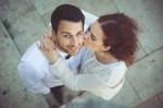 Couple lors d'un reportage mariage