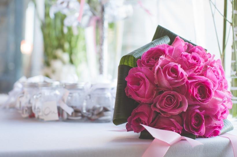 Photo détail de la décoration floral